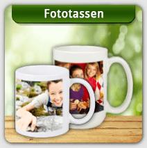 Fototassen gestalten und Tassen bedrucken