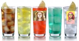 Trinkglas mit Foto ist immer eine gute Wahl