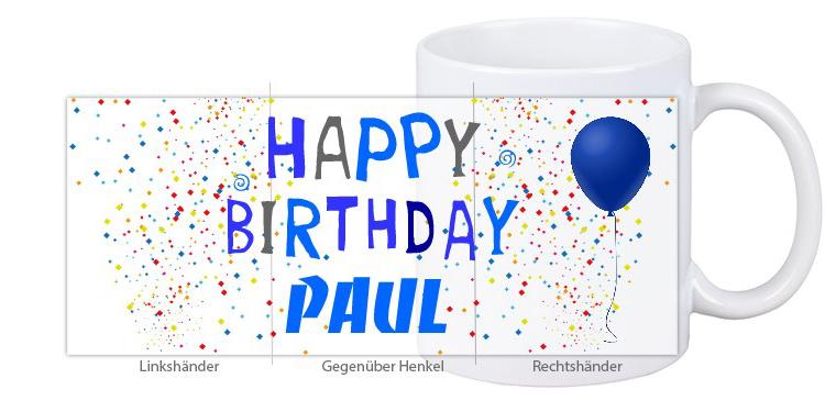 1000 Möglichkeiten Deine Geburtstagstasse Zu Gestalten