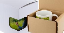 Verpackungen für Tassen