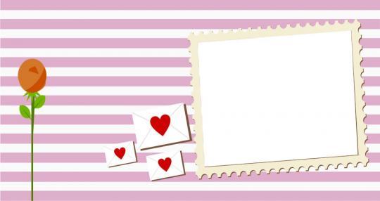 """Tassen-Design """"Love letters 1"""""""