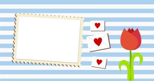 """Tassen-Design """"Love letters 2"""""""