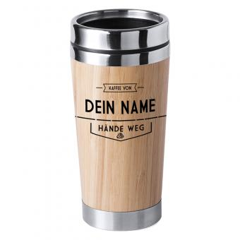 Thermobecher mit Name