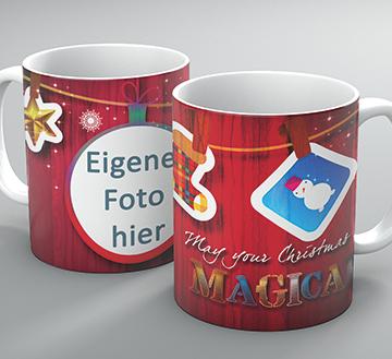"""Weihnachtstasse """"Magical"""""""