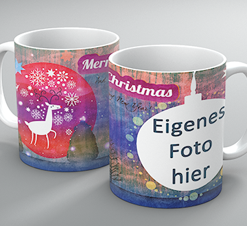 "Weihnachtstasse ""Christmas-Walk"""