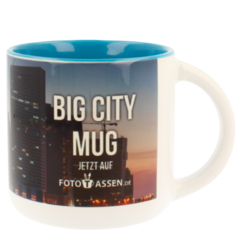 Jumbotasse Big City Mug hellblau