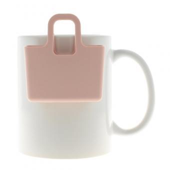 Kekshalter, Teebeutelhalter - verschiedene Farben Queen Pink