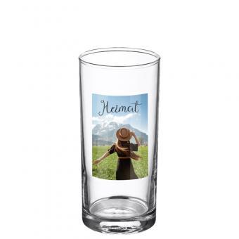 Foto Glas 0,25 Liter - Hochformat