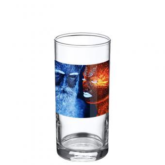 Foto Glas 0,25 Liter - Querformat