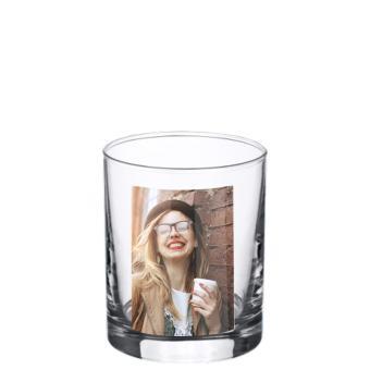Foto Glas 0,2 Liter - Hochformat