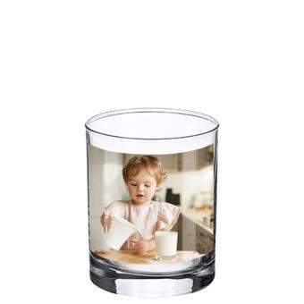 Foto Glas 0,2 Liter - Querformat