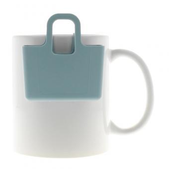 Kekshalter, Teebeutelhalter - verschiedene Farben Powder Blue