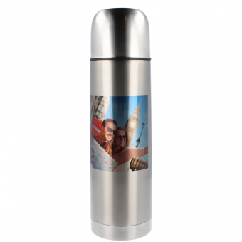 Thermosflasche 750 ml - Silber
