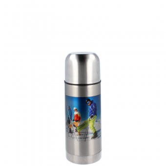 Thermosflasche 350 ml - Silber