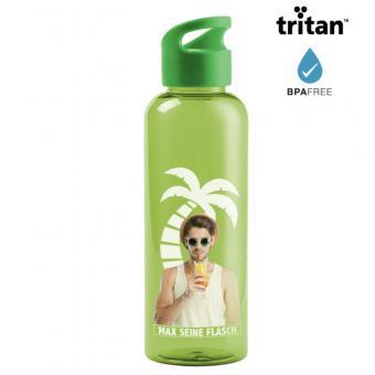 Trinkflasche aus Tritan® in grün