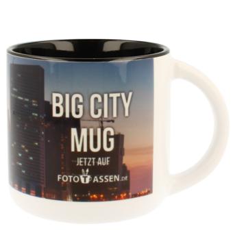 Jumbotasse Big City Mug in schwarz
