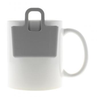 Kekshalter, Teebeutelhalter - verschiedene Farben Cool Grey