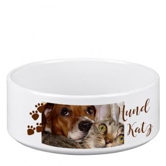 Hundenapf - Keramikschüssel gross individuell gestalten