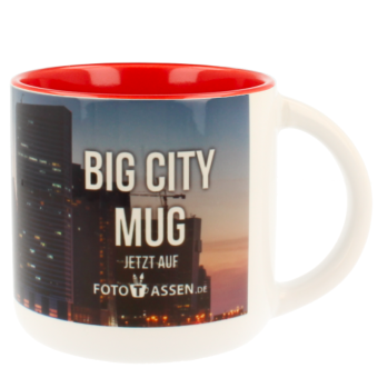 Jumbotasse Big City Mug in rot