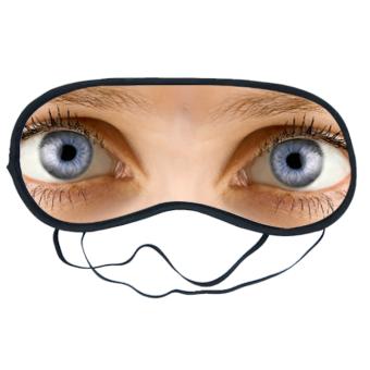 Bedruckbare Augenmaske
