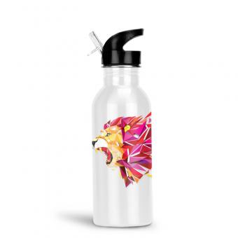 Edelstahl Trinkflasche 500 ml - Weiß