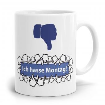 """Sprüchetasse """"Ich hasse Montag"""""""