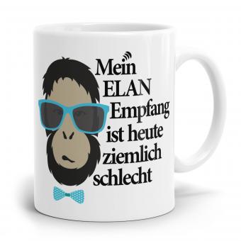 Sprüchetasse - Mein ELAN Empfang