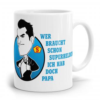 Sprüchetasse - Superhelden Papa