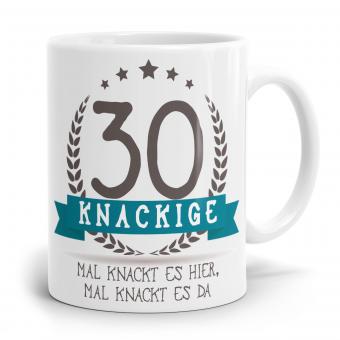 Sprüchetasse - Knackige 30