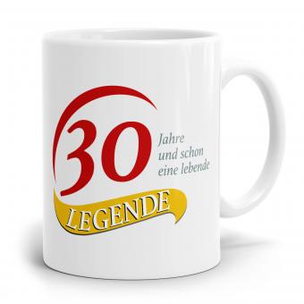 Sprüchetasse - 30  Jahre eine Legende