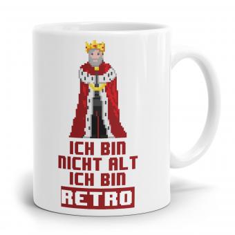 Sprüchetasse - Bin Retro Prinz