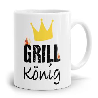 Sprüchetasse - Grill König