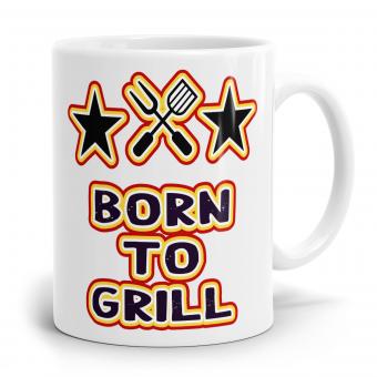 Sprüchetasse - Born to Grill