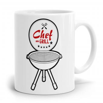 Sprüchetasse - Der Chef am Grill
