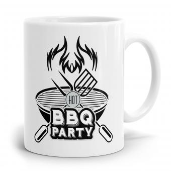 Sprüchetasse - Hot BBQ Party