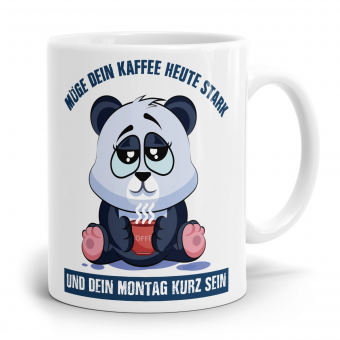 Sprüchetasse - Kaffee stark
