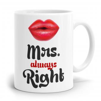 Sprüchetasse - Mrs Right