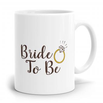 Sprüchetasse - Bride to be
