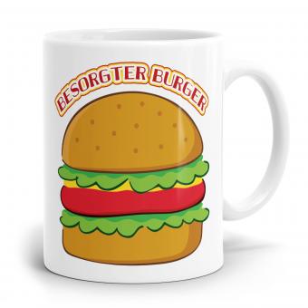 Sprüchetasse - Besorgter Burger