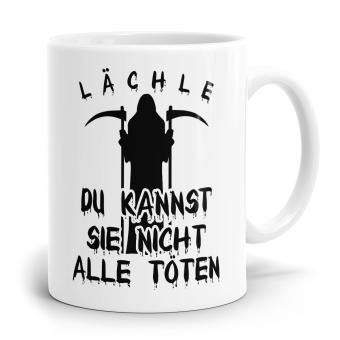 Sprüchetasse - Lächle