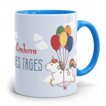 """Einhorn Tasse """"Einhorn des Tages"""""""