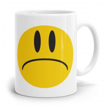 """Emoji Emoticons Tasse """"Stirnrunzelndes Gesicht"""""""
