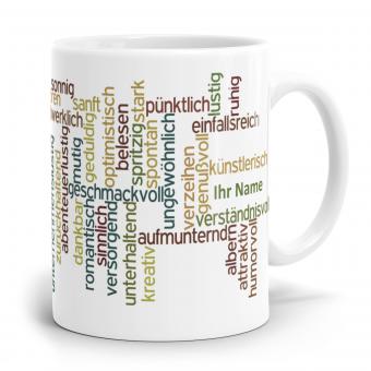 Wortwolke Design Simply