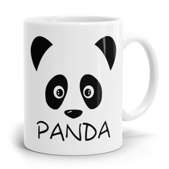Panda Tasse - Face of Panda