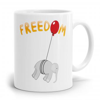 Elefant Tasse - Freedom