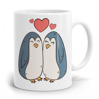 Pinguin Tasse - In Liebe