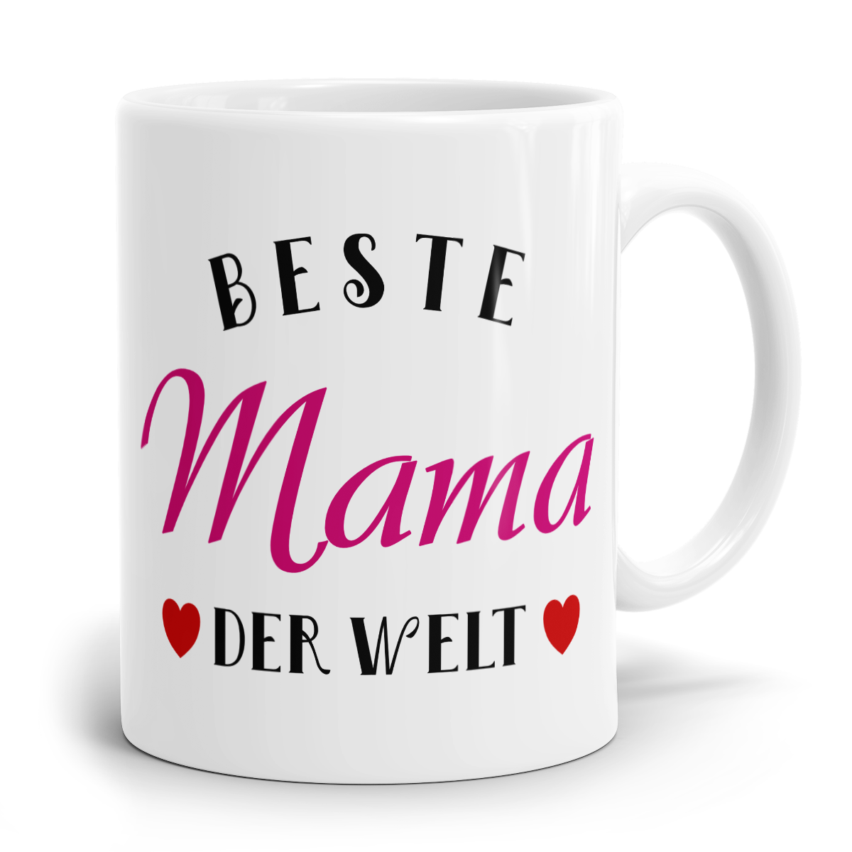beste mama der welt bedruckter kaffeebecher f r mama. Black Bedroom Furniture Sets. Home Design Ideas