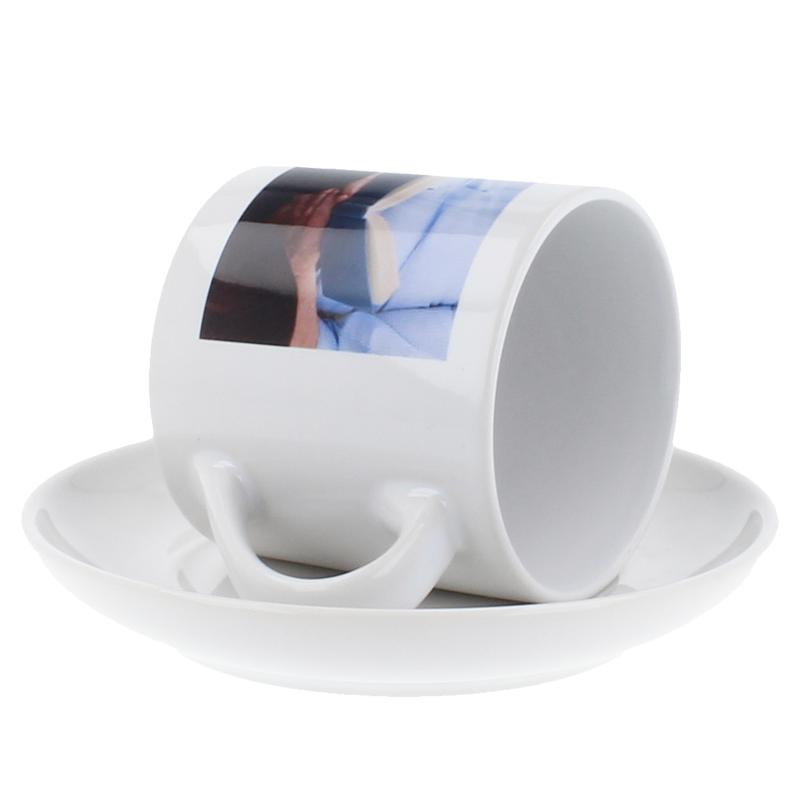 kaffeetasse mit untersetzer selbst gestalten. Black Bedroom Furniture Sets. Home Design Ideas