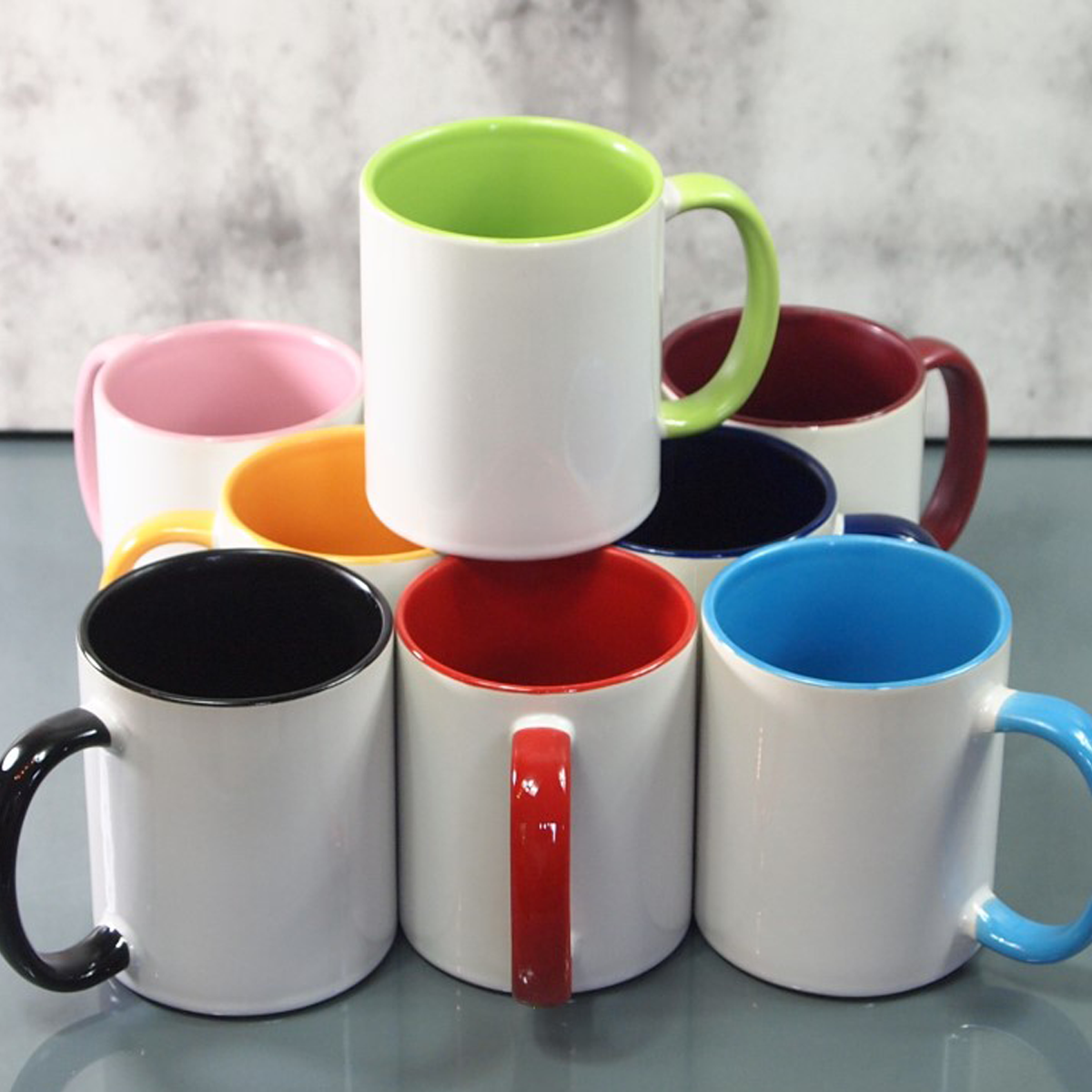 kaffeebecher selbst gestalten in bordeaux