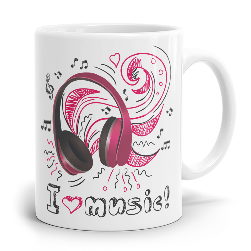 Tasse I love Music